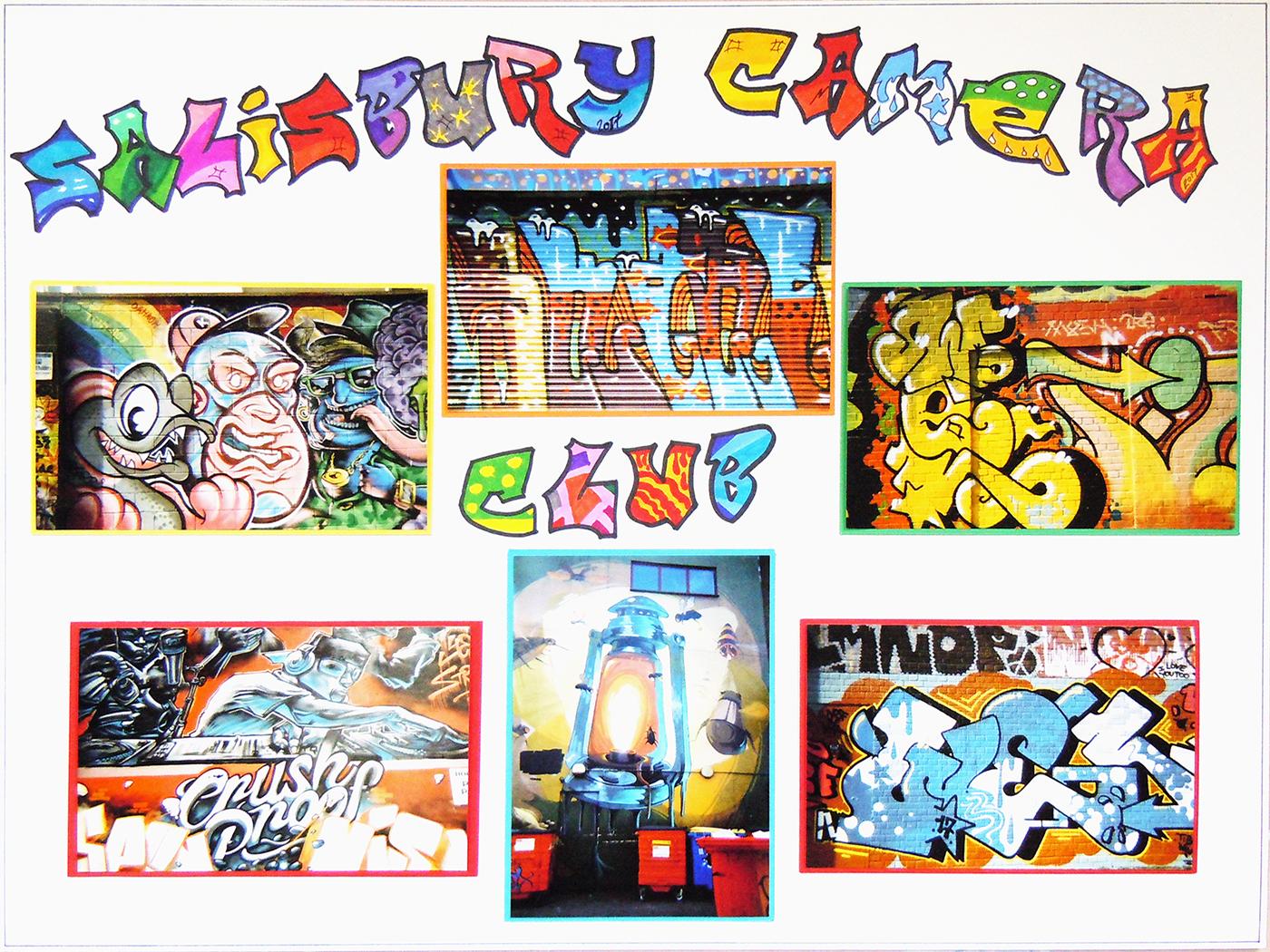 Third 'Graffiti' by Mandy Herridge