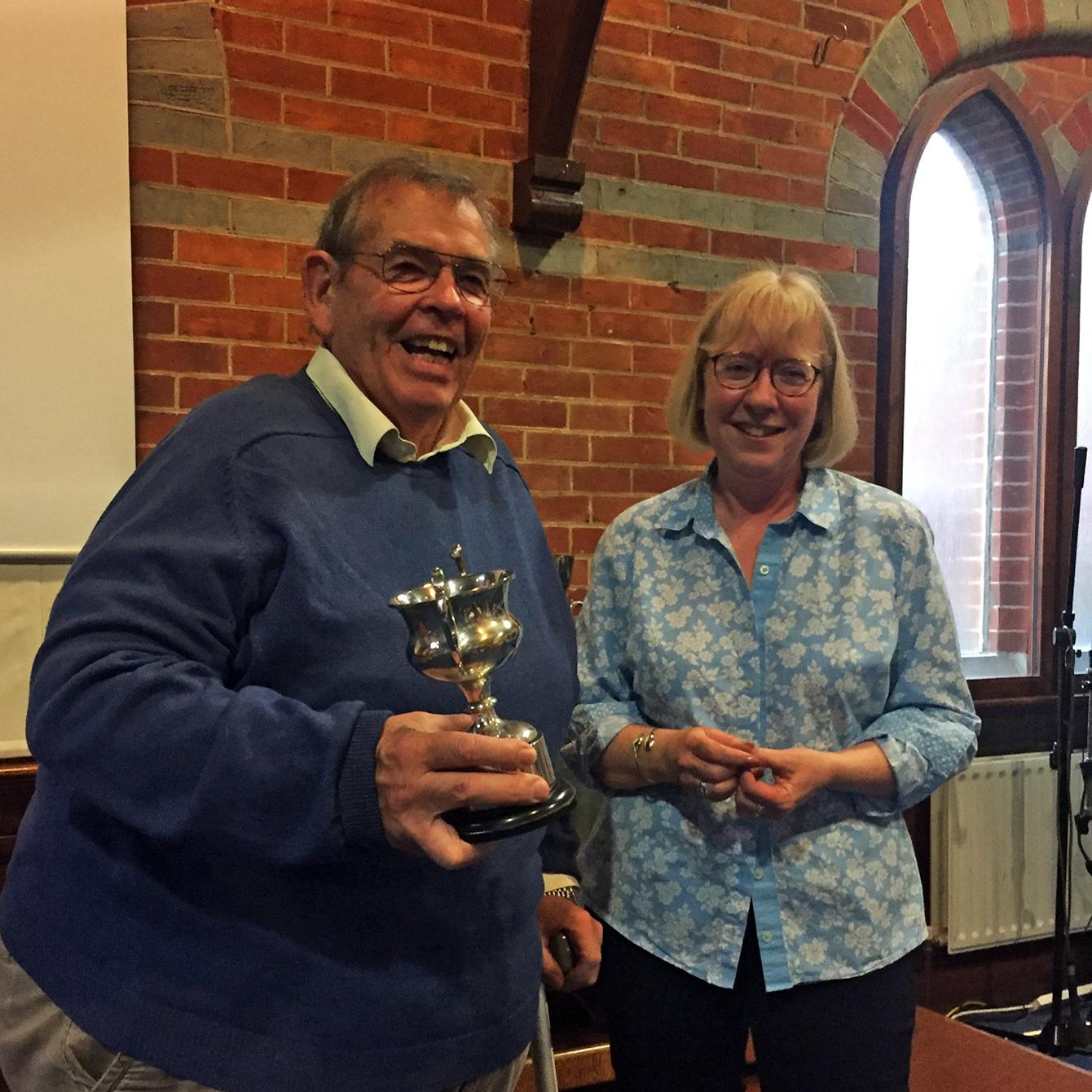 DS White Cup Winner Ian Porter