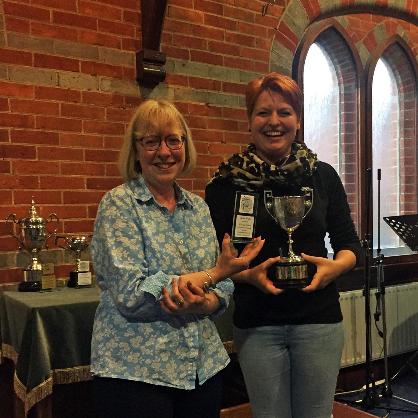 Petchell Trophy Winner Marina Hauer