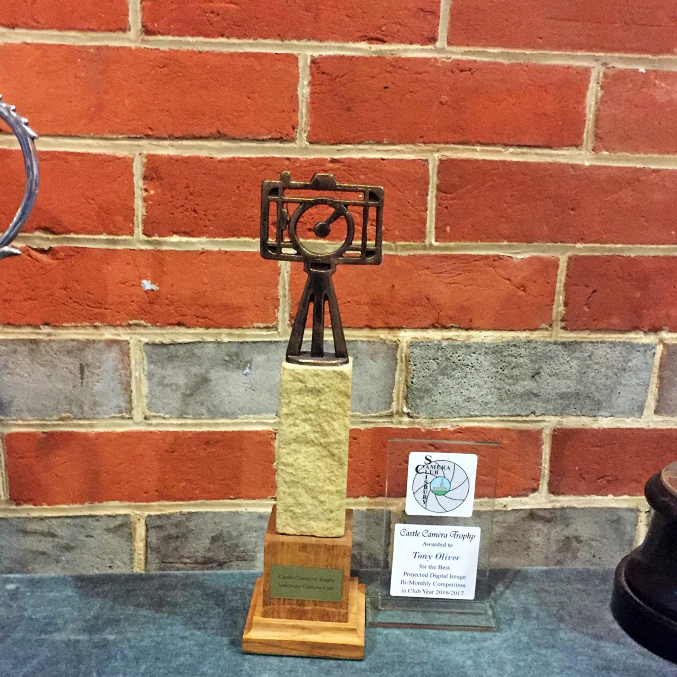 Castle Camera Trophy Winner Tony Oliver