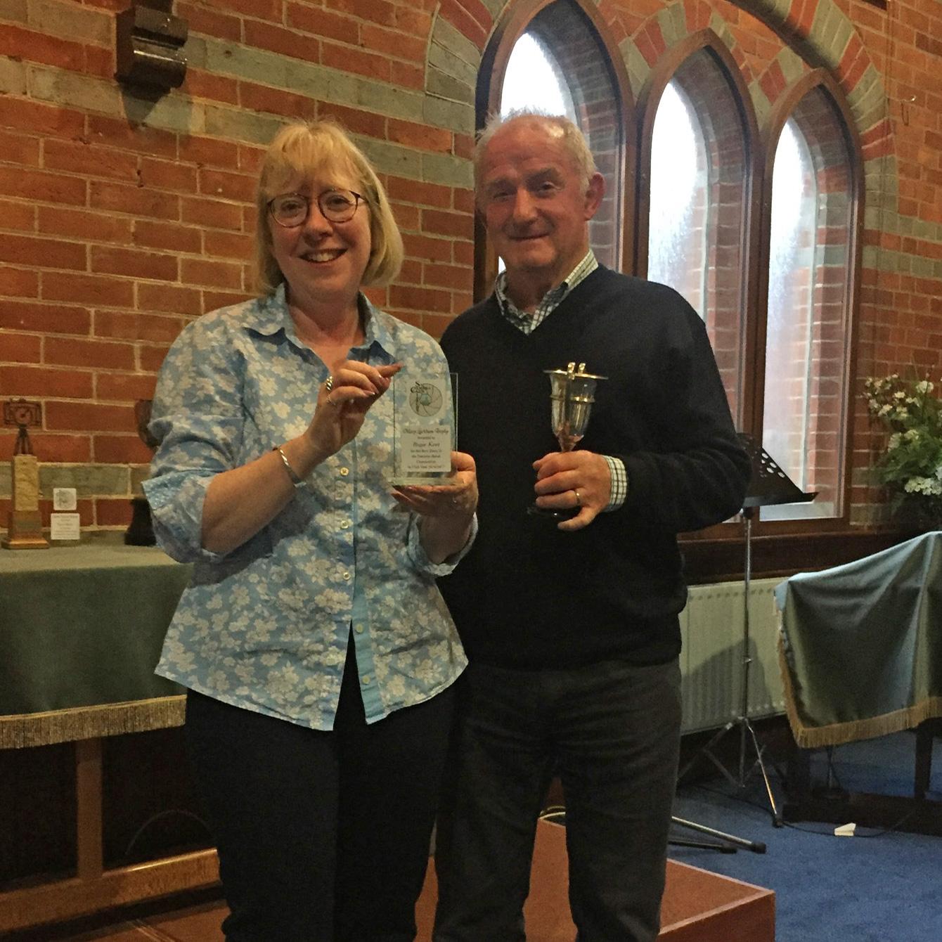 Mary Luckham Trophy Winner Roger Kent