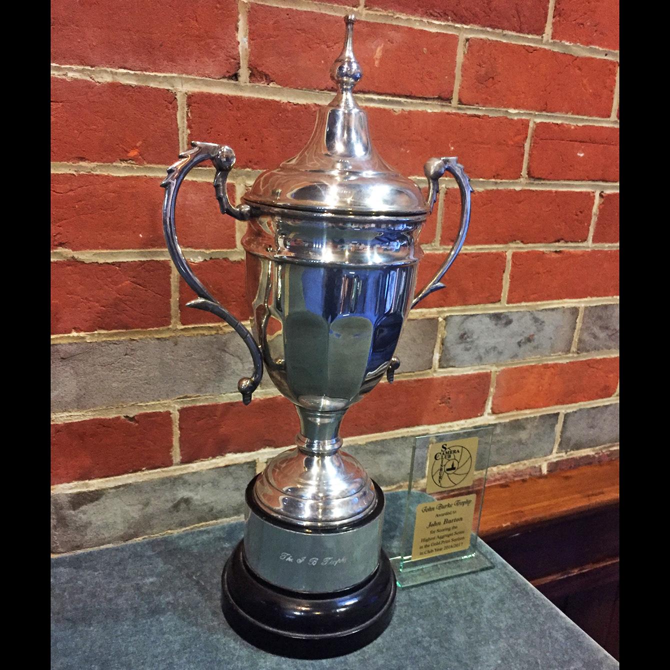 John Burke Trophy Winner John Barton