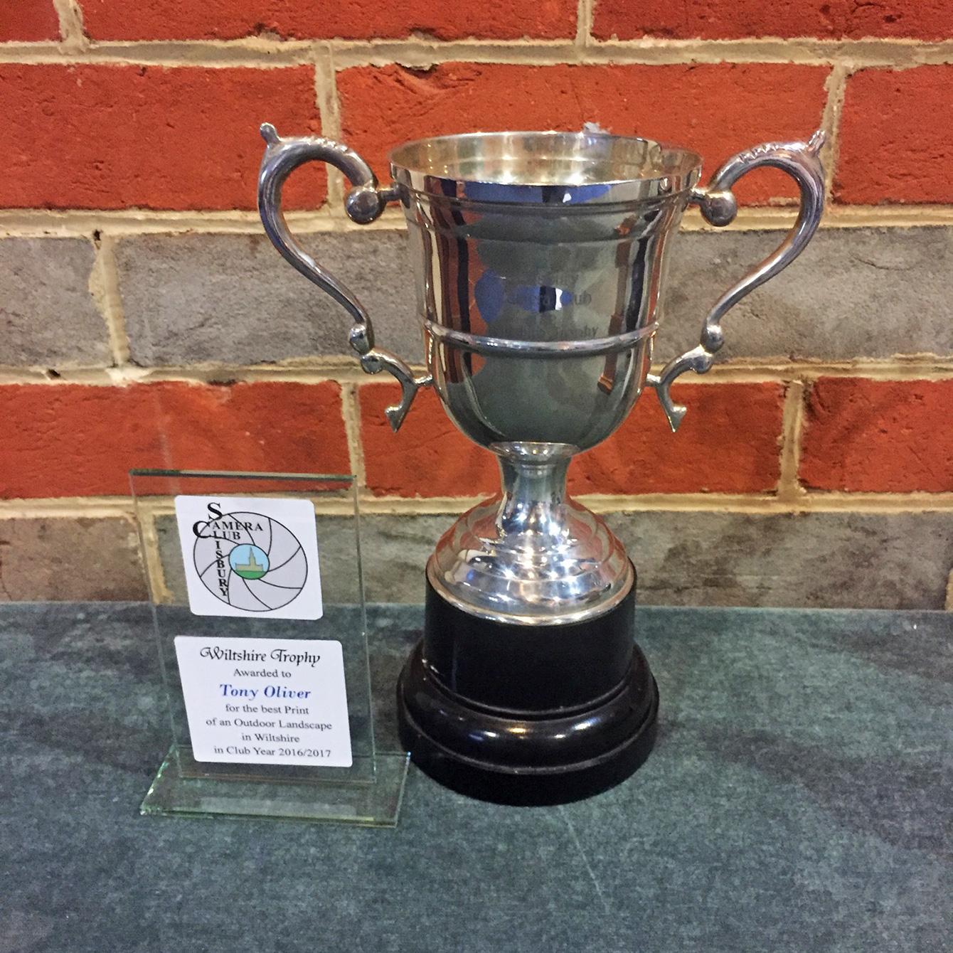 Wiltshire Trophy Winner Tony Oliver