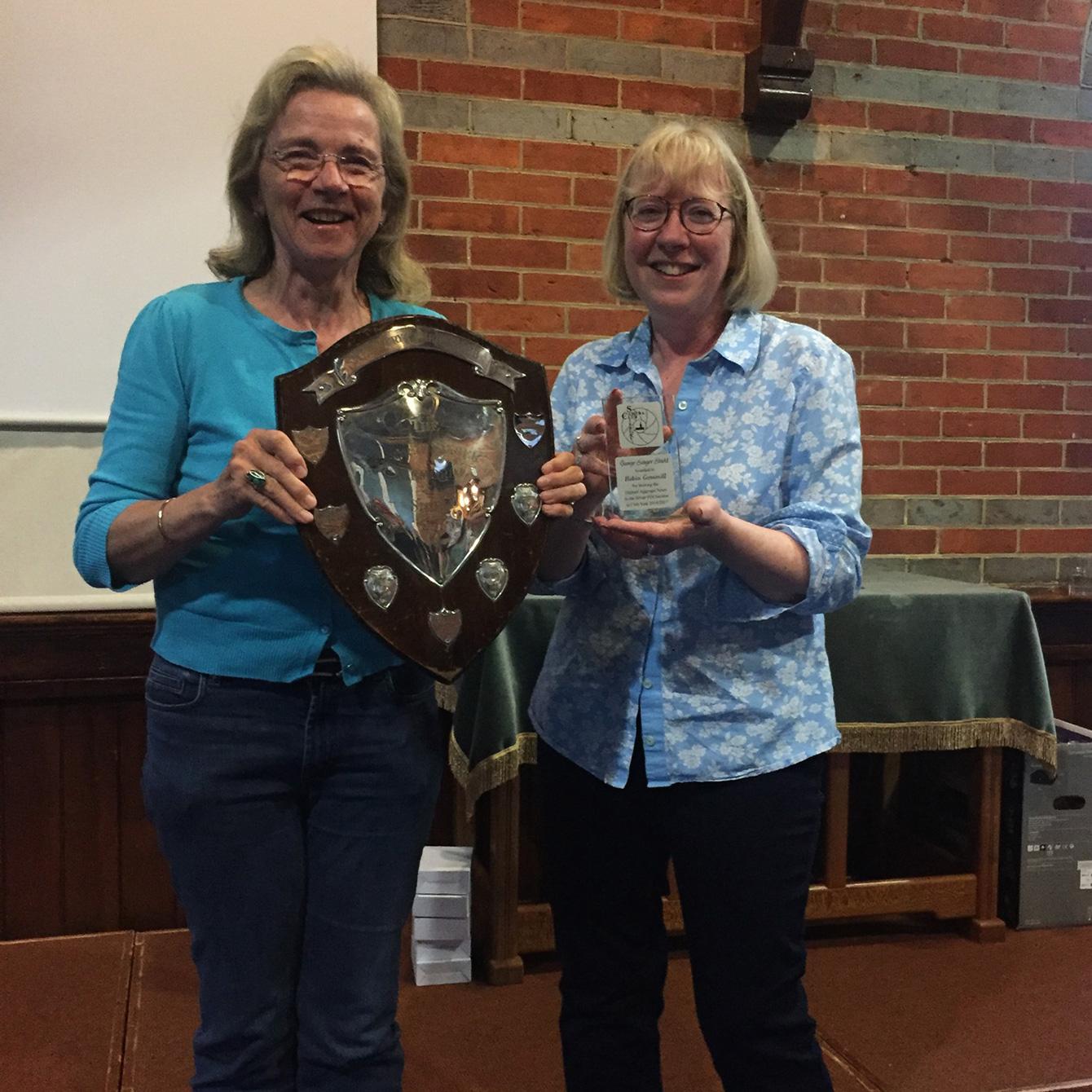 George Sanger Trophy Winner Robin Gemmill