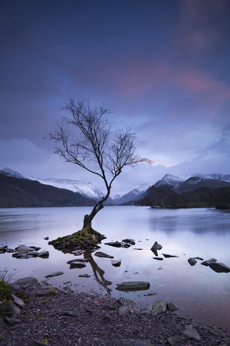 'Dawn at Llanberis' by John Barton