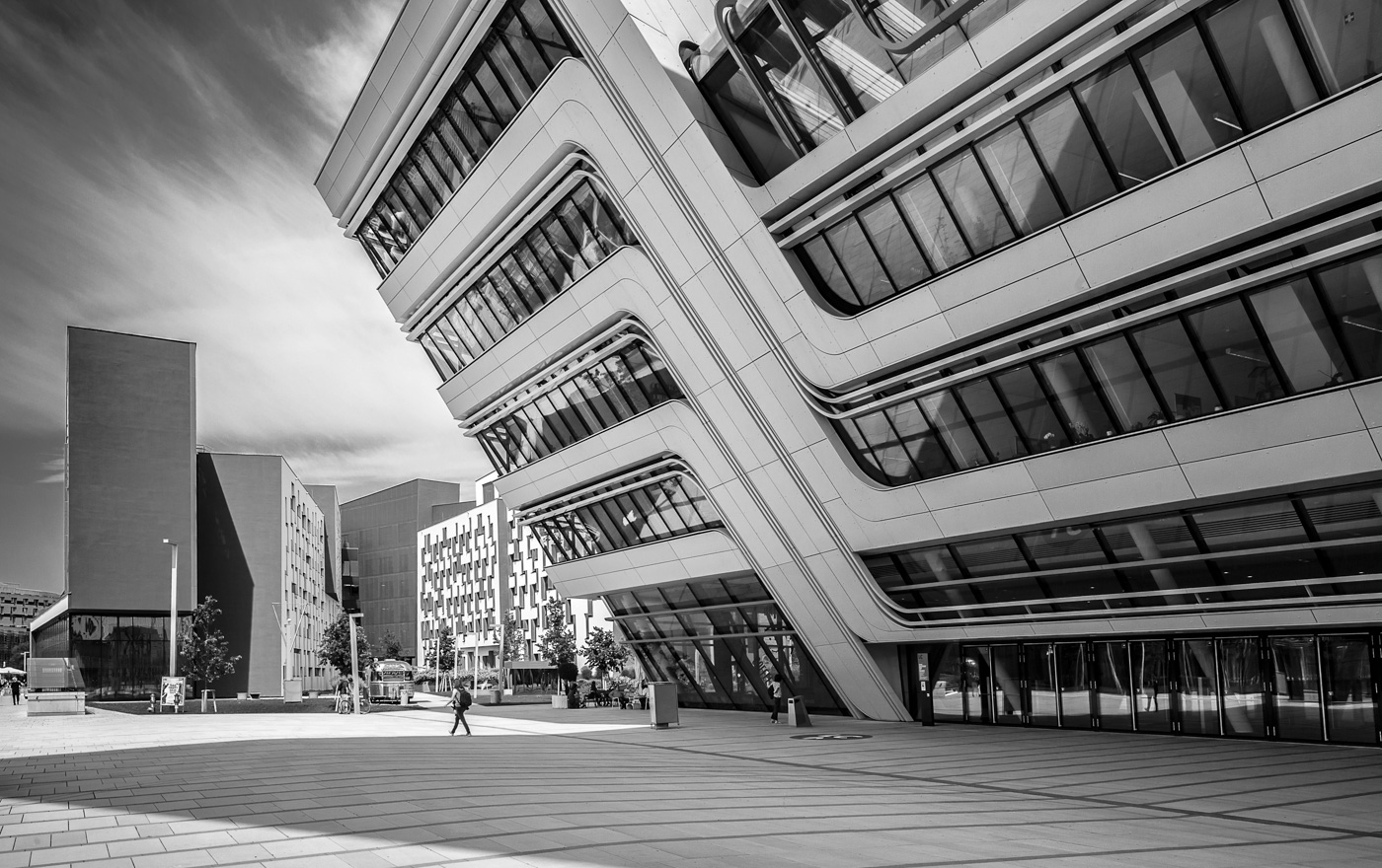 'Architectural leaning' by Marina Hauer