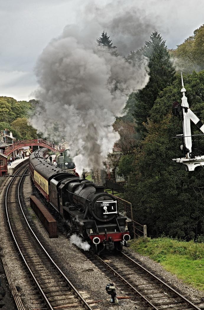 06_Out of Goathland Station_Roger Kent