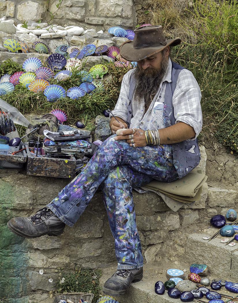 80_Pebble Painter_Roger  Ellway
