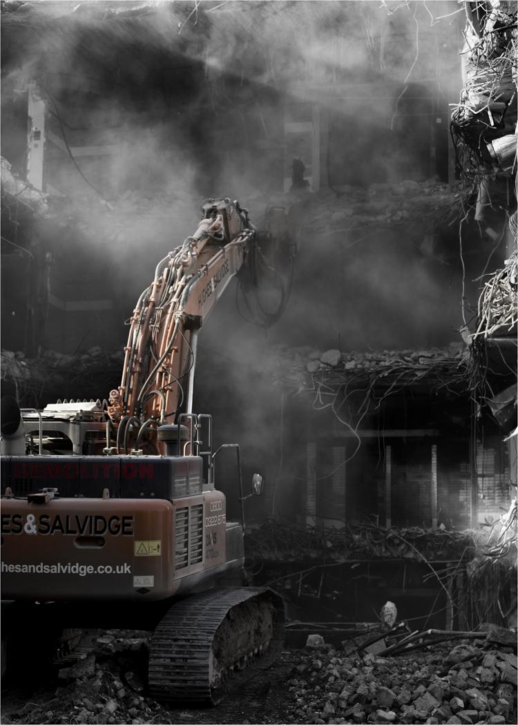 Second 'Destruction' by John Barton