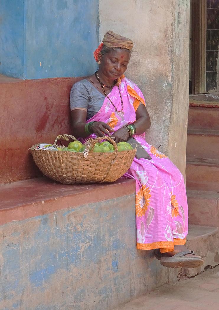 'Fruit Seller' by Sally Money