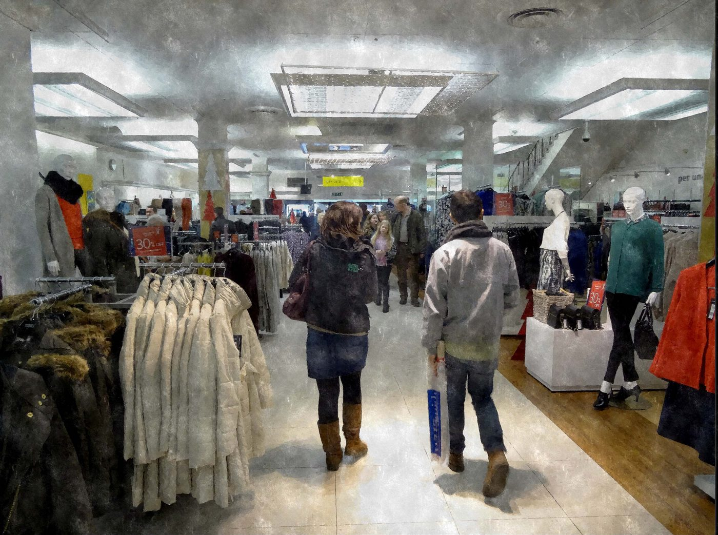 First 'Modern shopping' by Peter Read