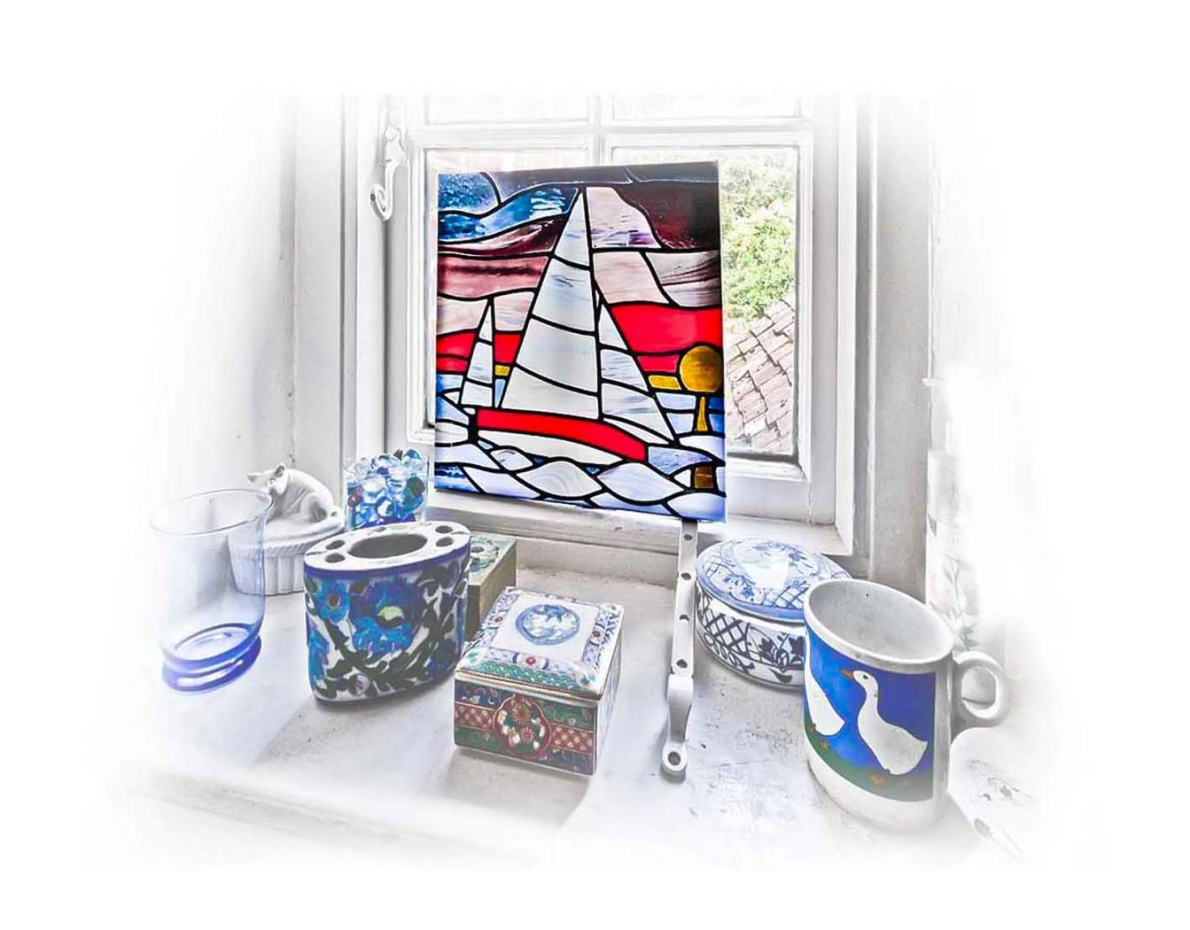 First 'Bathrooom Window' by Peter Read