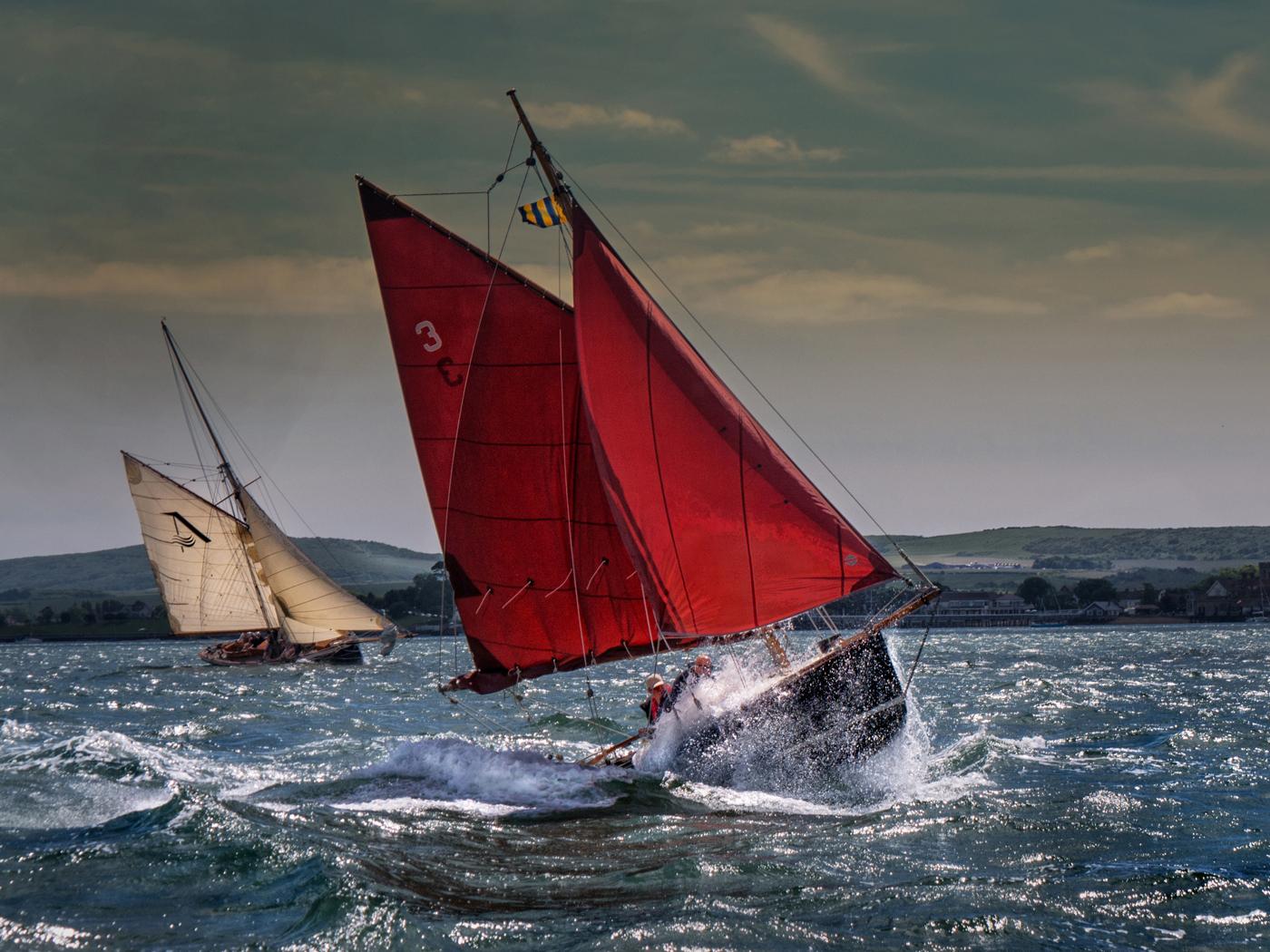 First 'Sea Spray' by Ian Porter