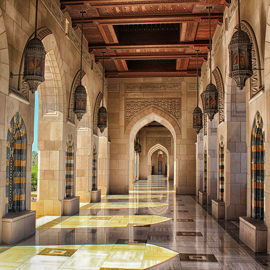 First 'The Grand Mosque' by Linda Oliver