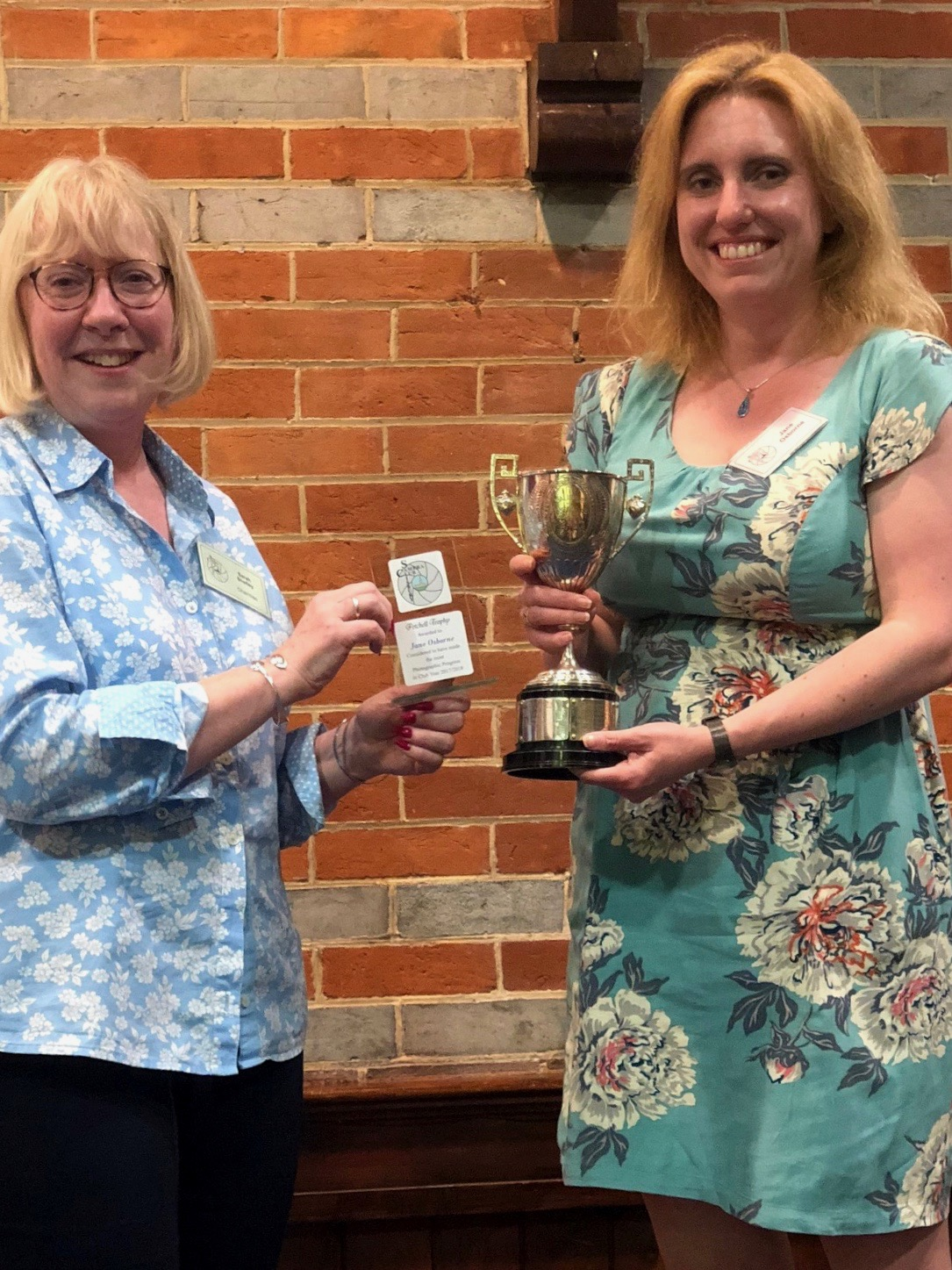 Petchell Trophy - Jane Osborne