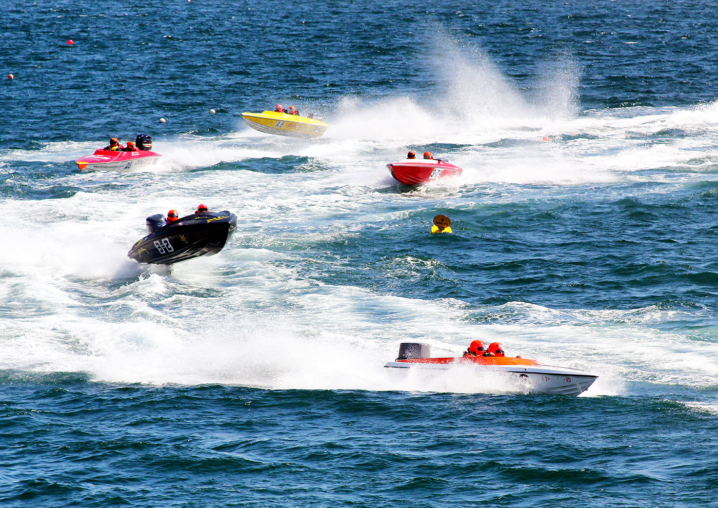 'Power Boat Racing' by Linda Oliver