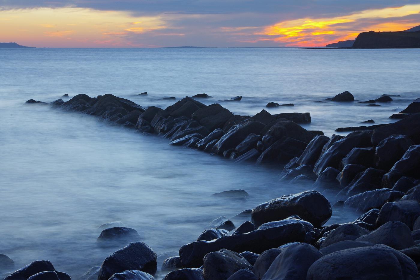 'Kimmeridge Sunset' by Richard Ramsay