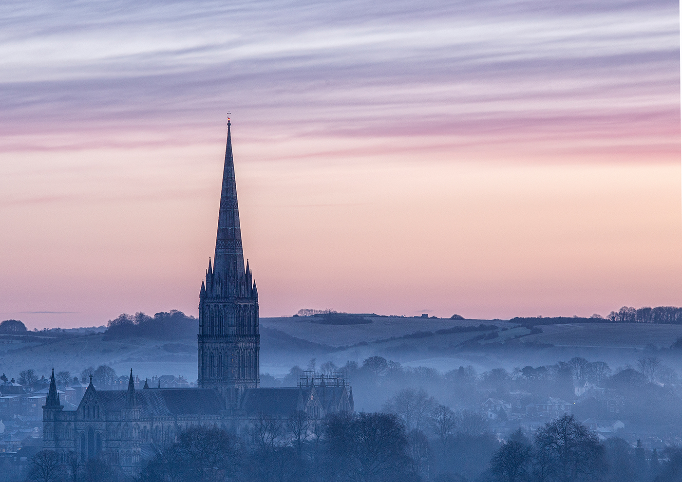 'Cathedral Dawn' by Tony Oliver