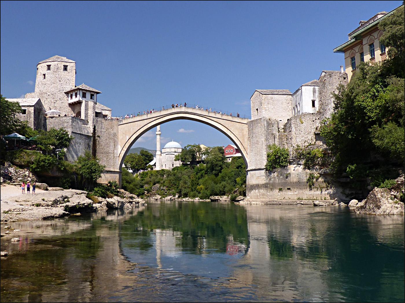 'Mostar rebuilt' by Austin Thorp