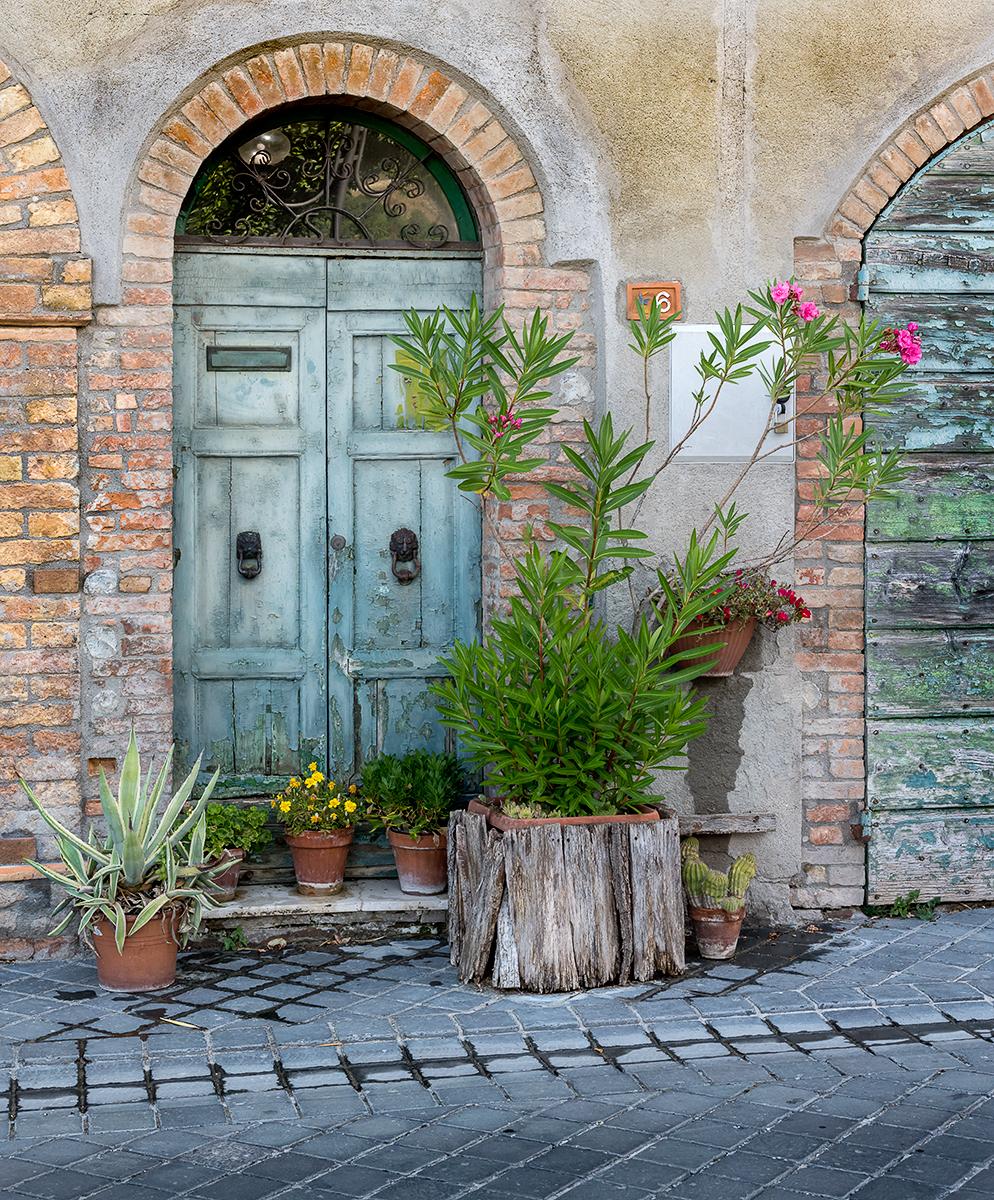 Third 'Tuscan Front Door' by Mark Cooper