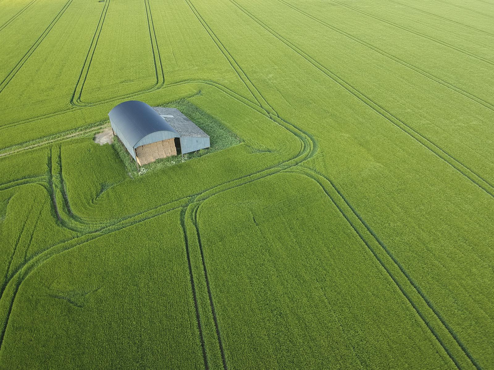 First 'Blandford Barn' by Tony O'Reilly