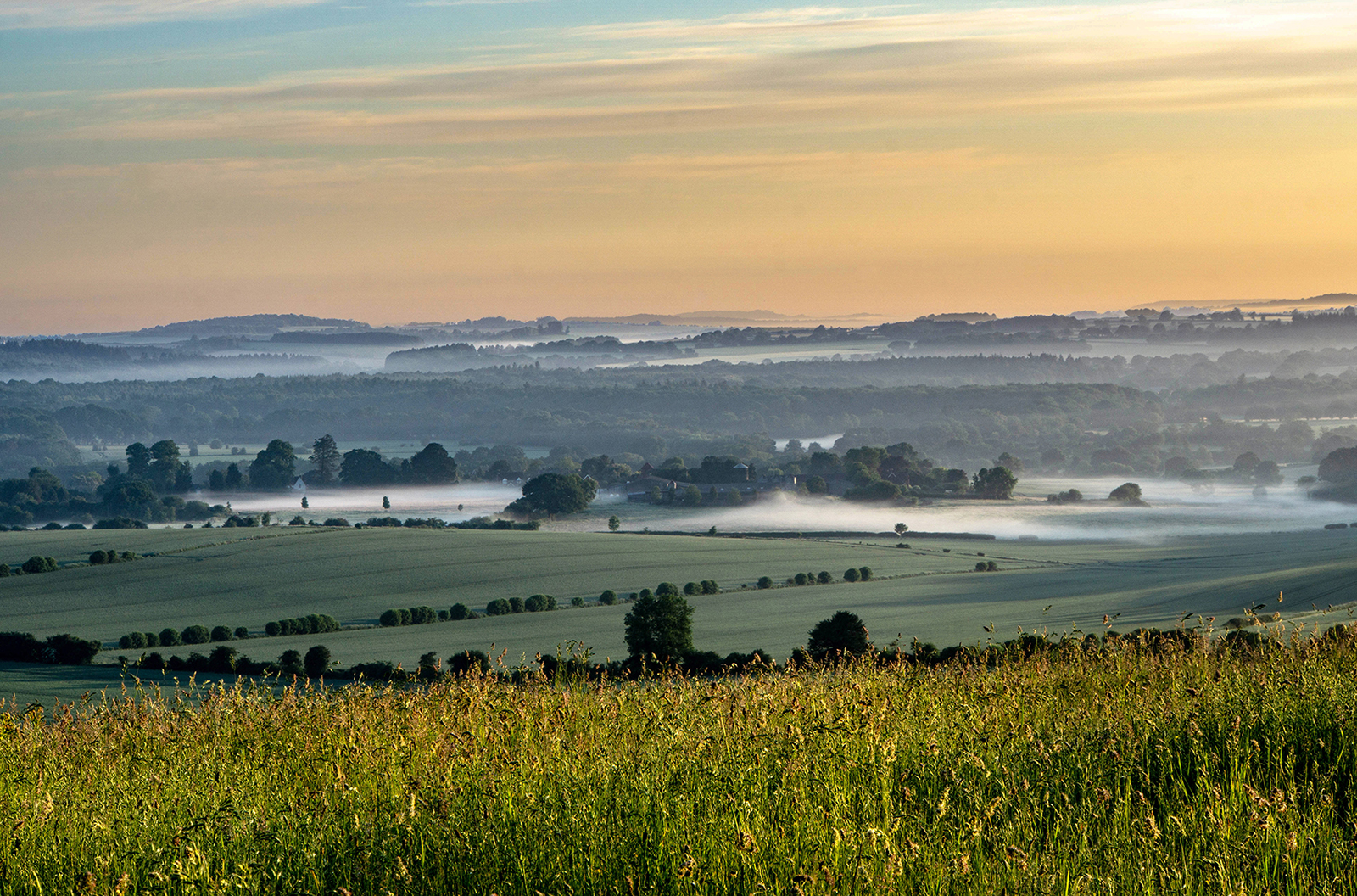 HC 'Early Morning over W Grimstead' by Rob Tarlton