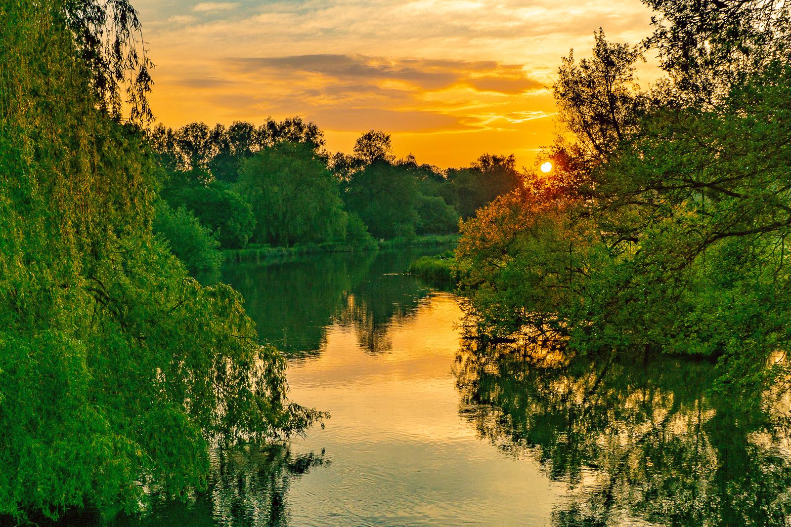 64_Woodford Bridge Sunrise_Terry Waldron