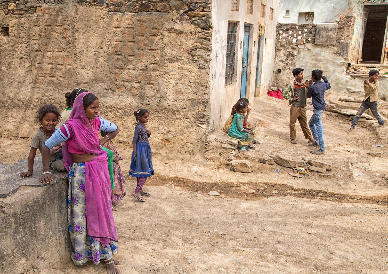 HC 'Indian Village' by Tony Oliver