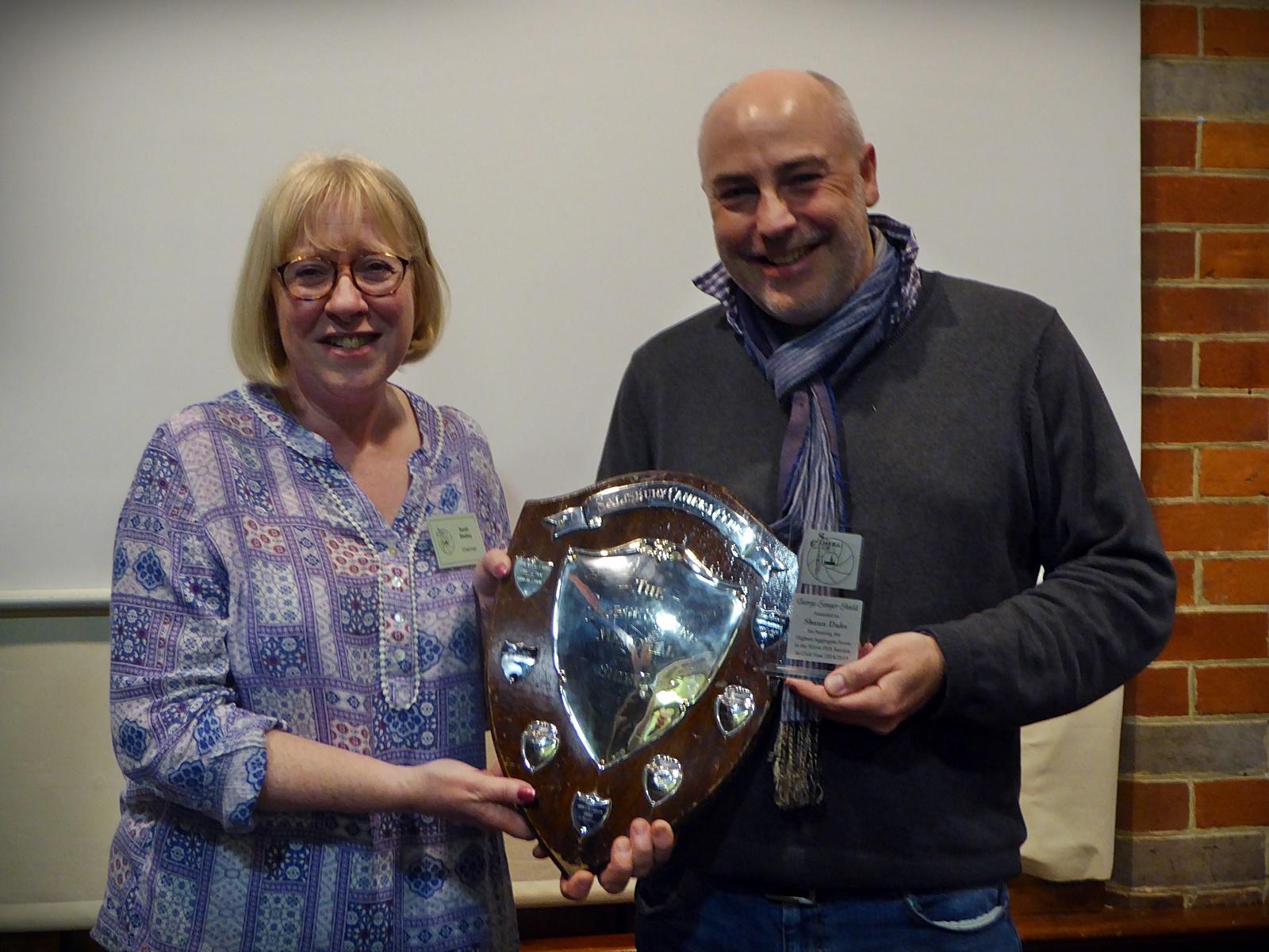 George Sanger Trophy - Shaun Duke