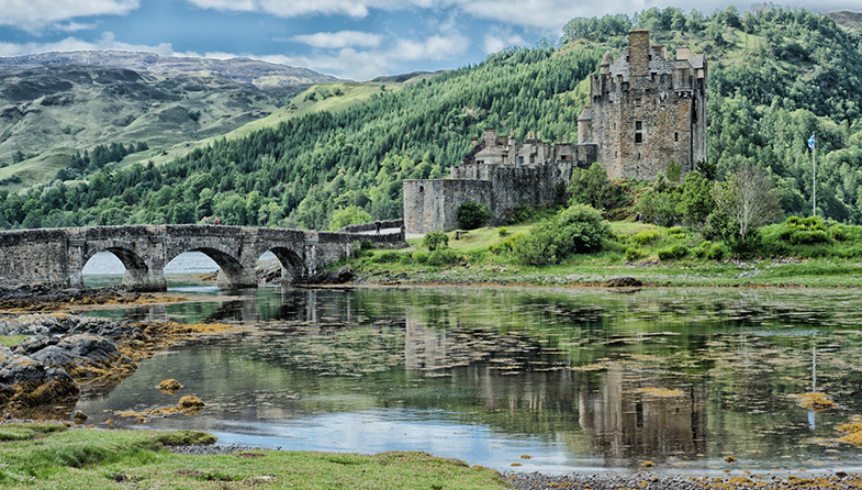 'Eilean Donan' by Mike Brown