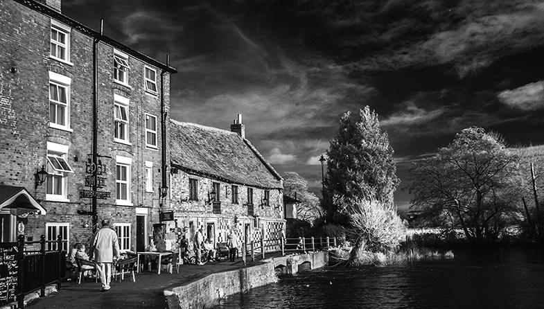 'Harnham Mill' by Roger Ellway