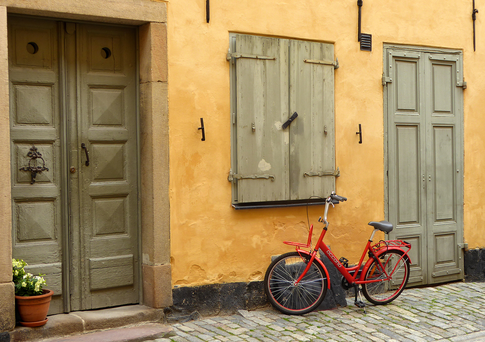 'The Red Bicycle' by Linda Oliver