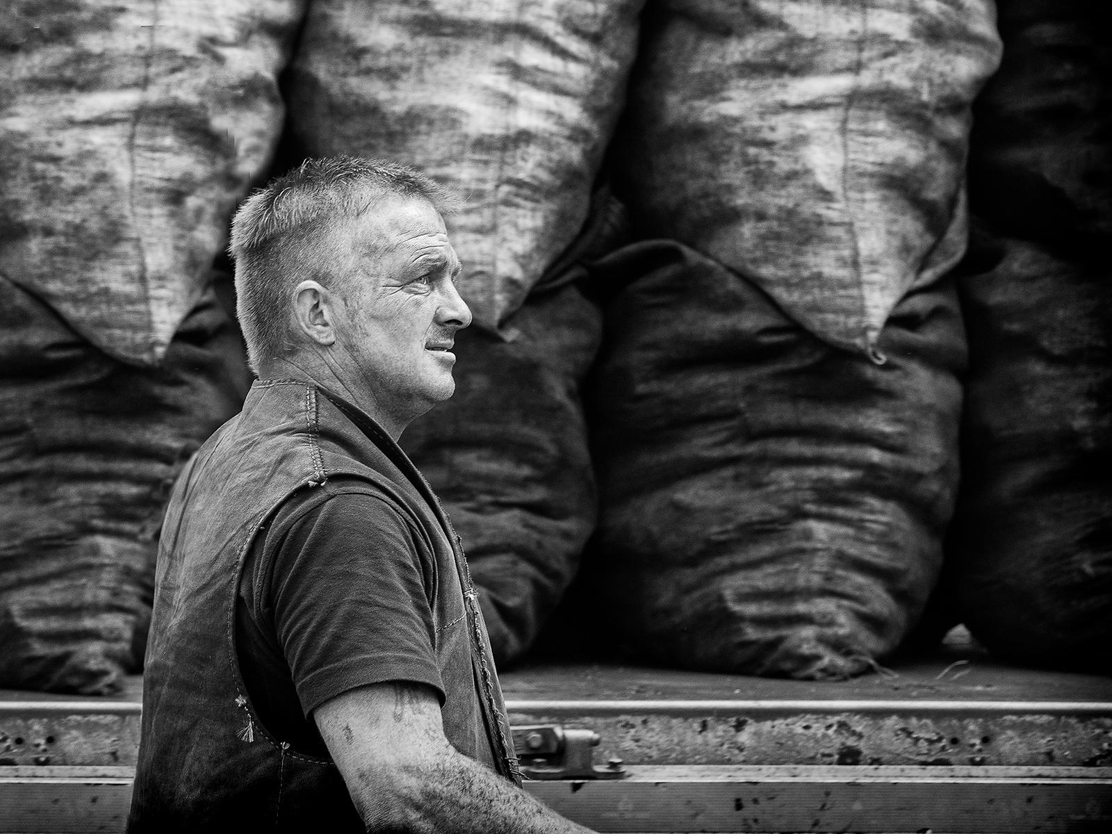 'The Coalman' by Tony Oliver