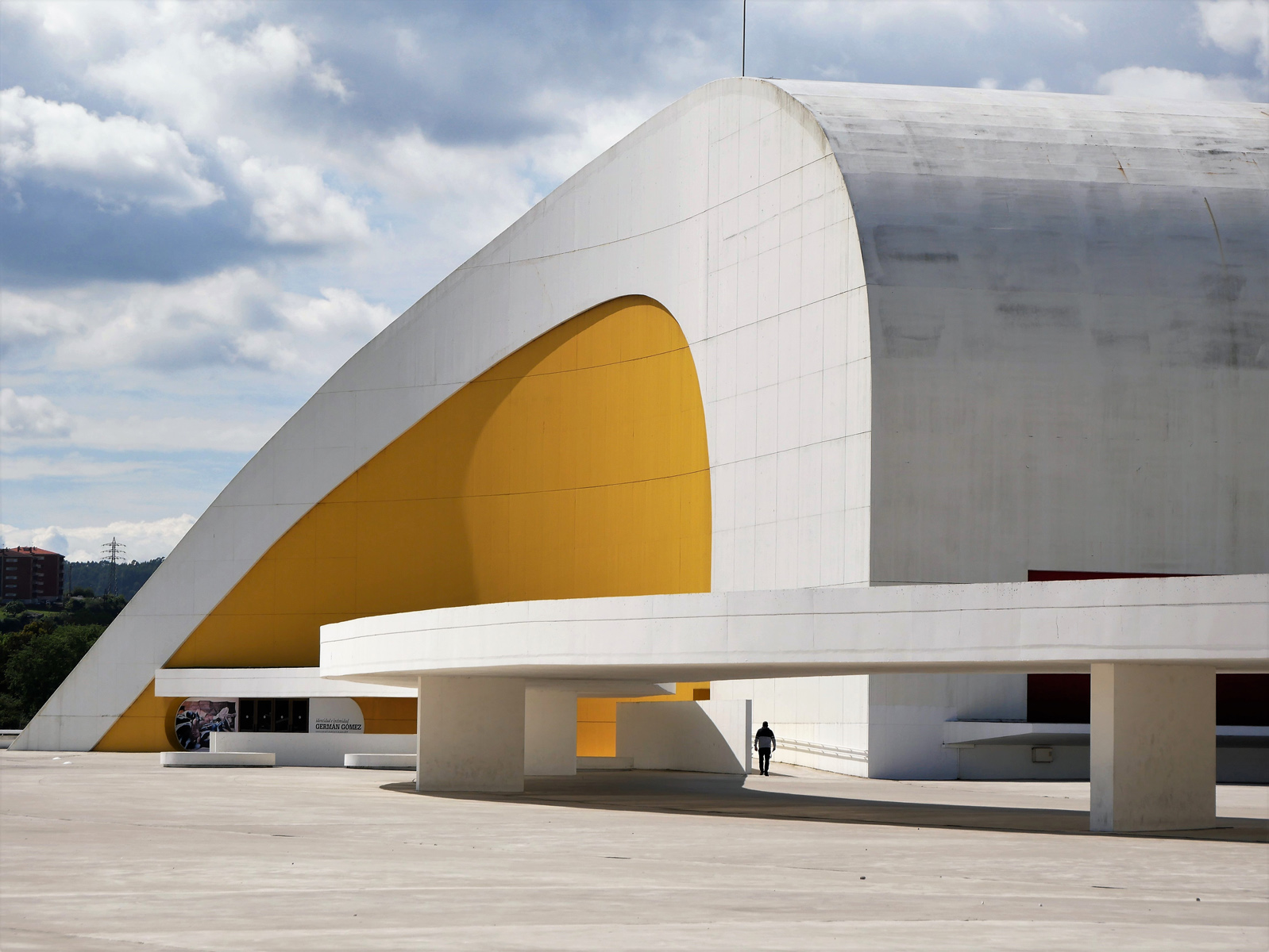 'Niemeyer Centre Aviles' by Peter Woodhouse
