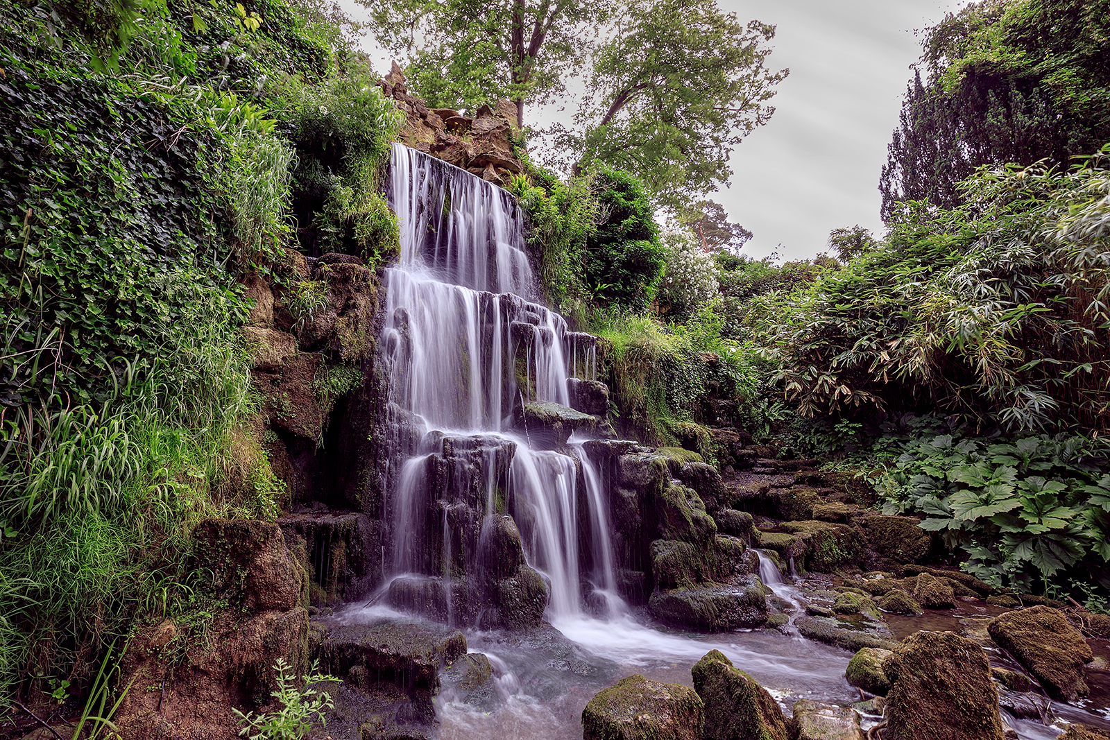 'Bowood Waterfall' by Shaun Duke