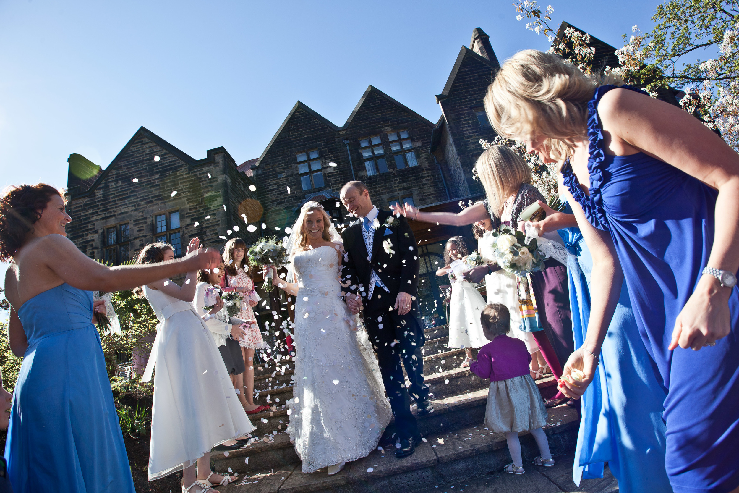 Jesmond Dene House - a great place for wedding photography