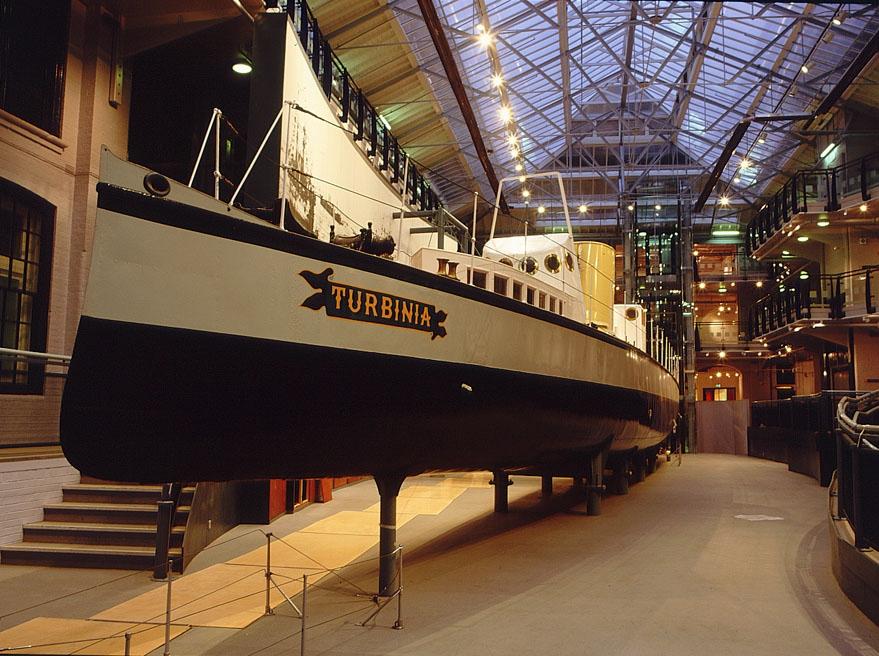 Discovery Museum - Turbinia Gallery