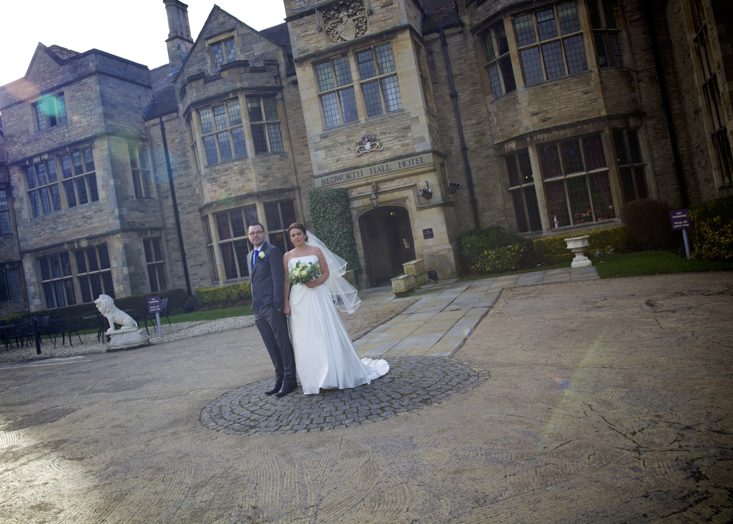 Redworth Hall - Entrance