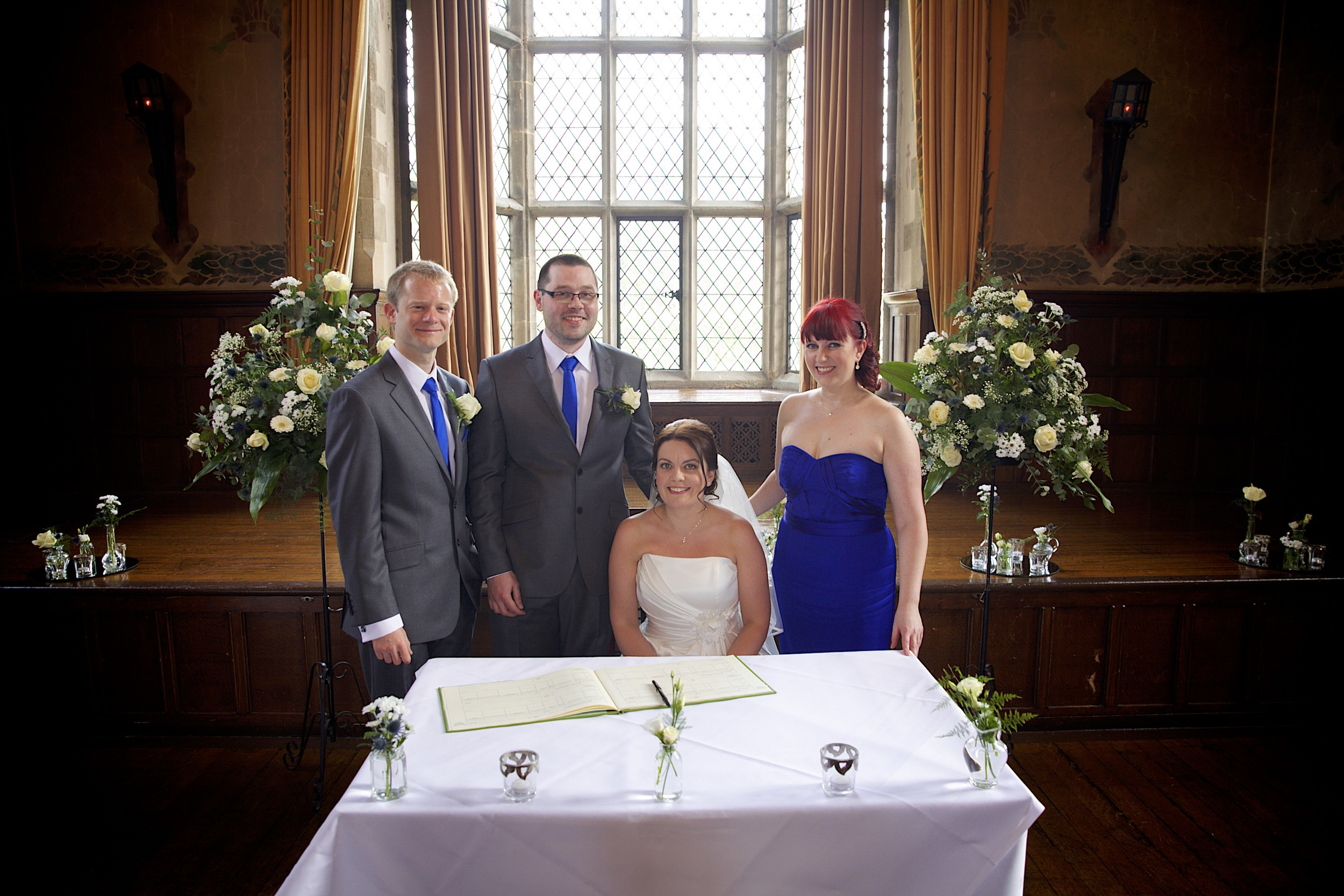 Redworth Hall - The Great Hall - Lynne & James