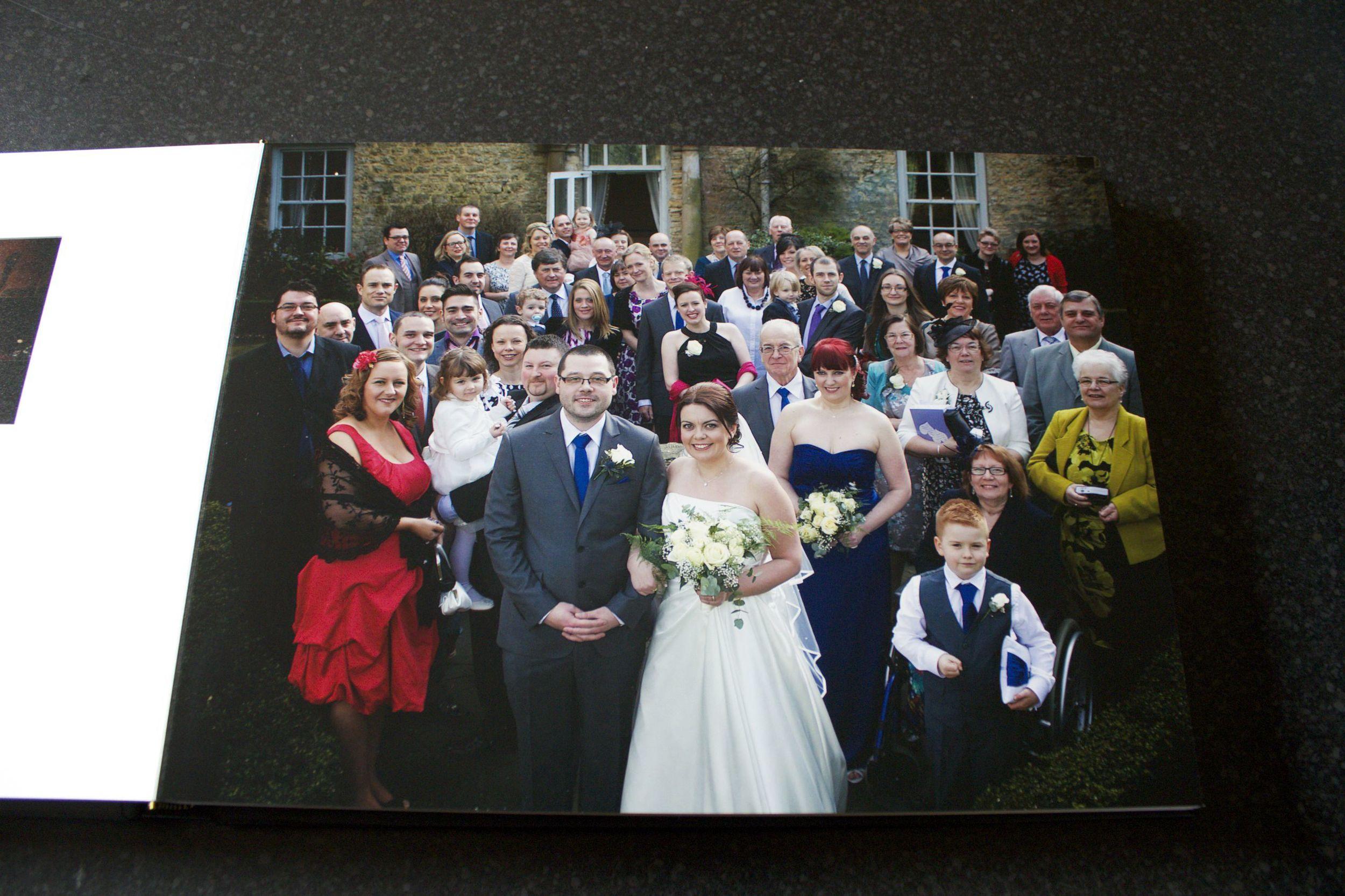 Tony Sarlo Wedding Album - Group Shot