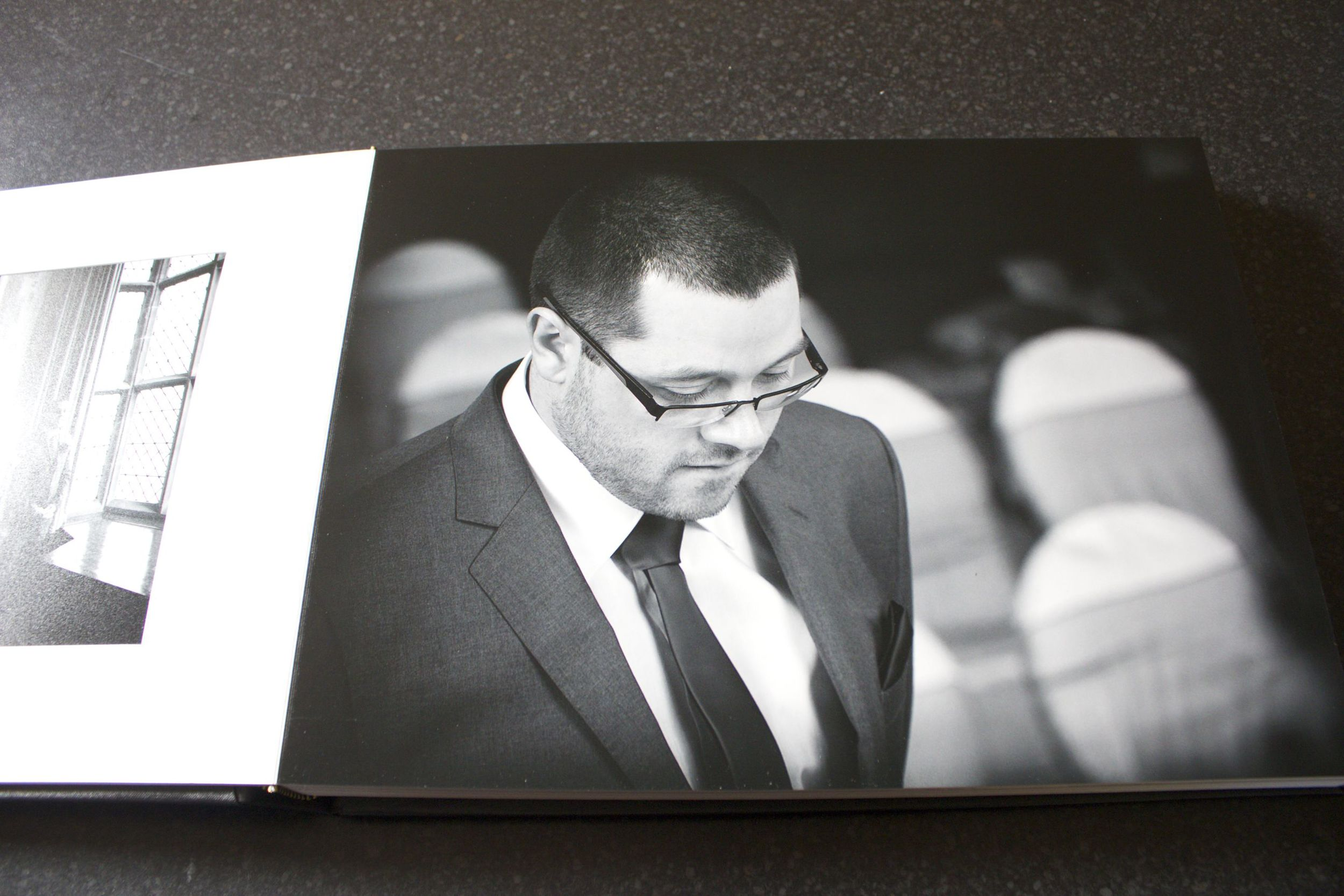 Tony Sarlo Wedding Album - Black and White