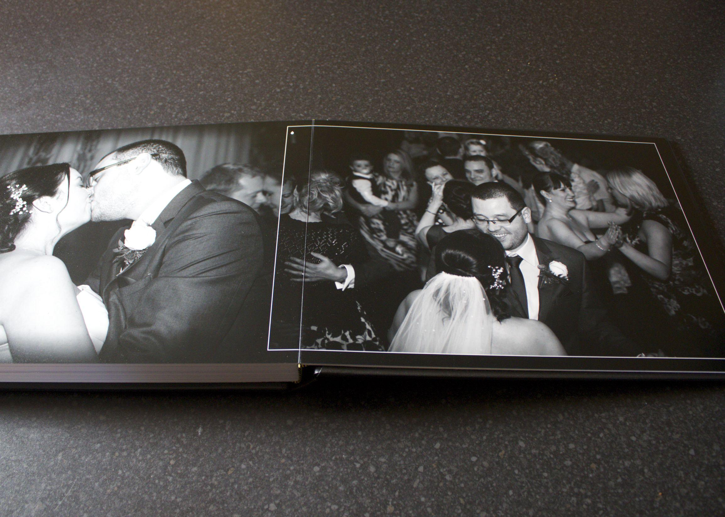 Tony Sarlo Wedding Album - Lay Flat