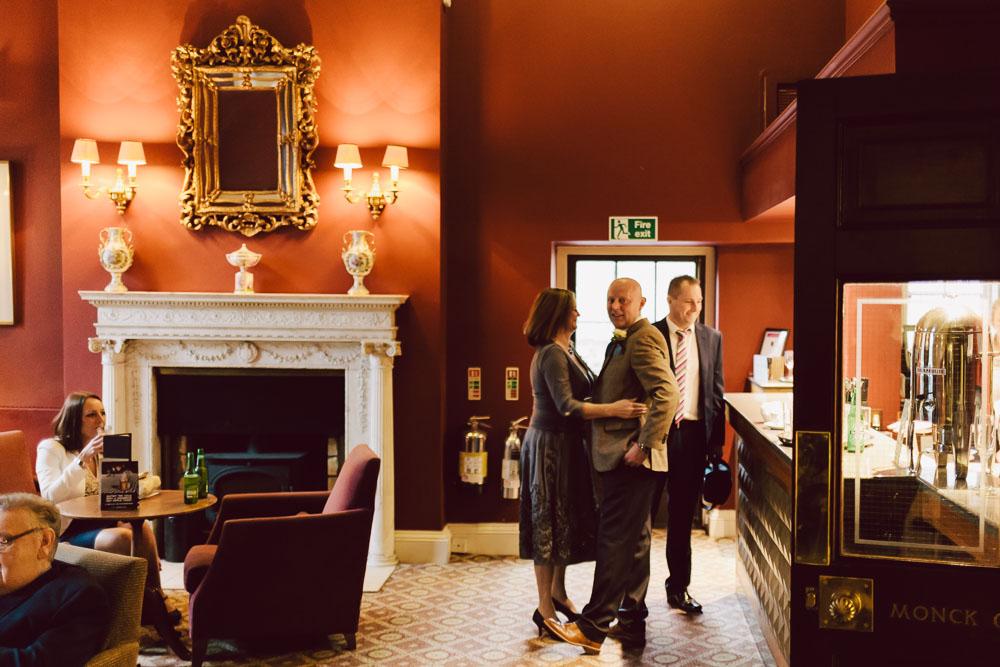 The wedding bar at Linden Hall, Northumberland