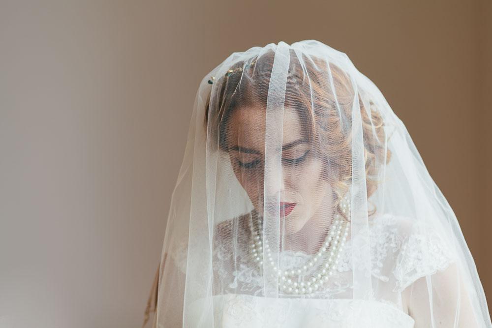 Vintage bride from Great North Museum Hancock)