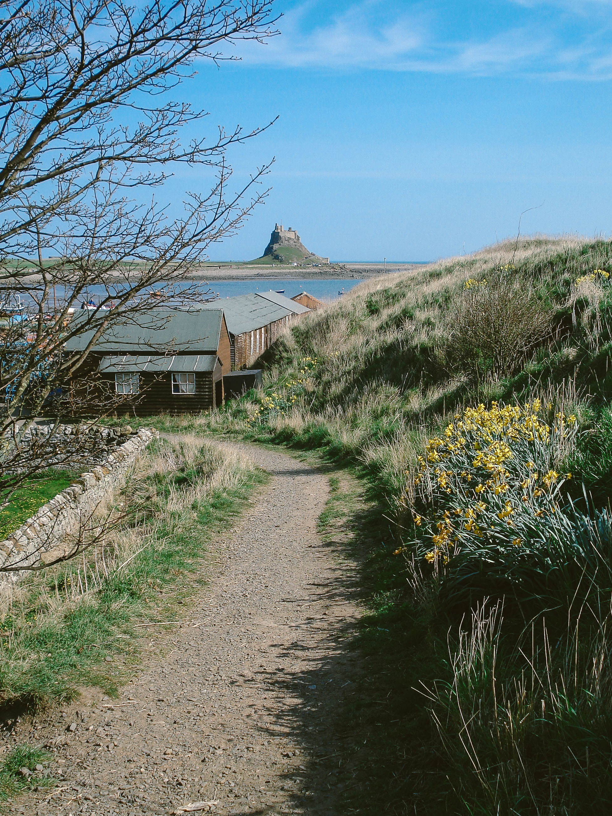 Lindisfarne Castle is one of the most spectacular wedding venues in Northumberland
