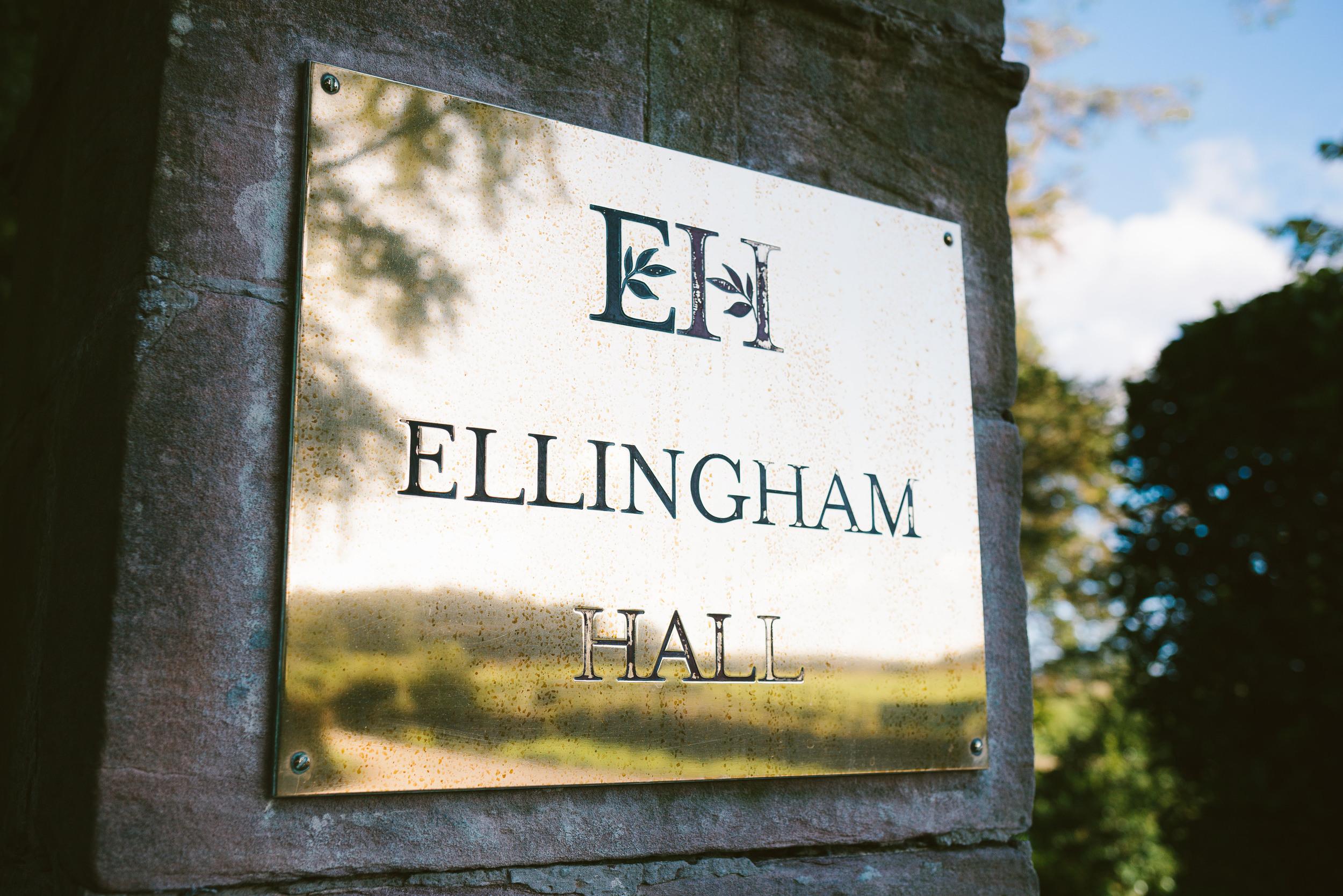 Ellingham Hall Northumberland Wedding Venue Entrance