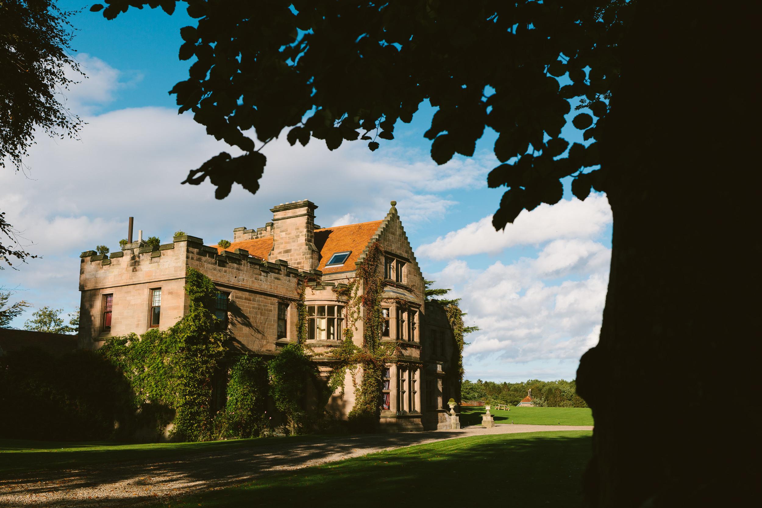Ellingham Hall Northumberland Wedding Venue