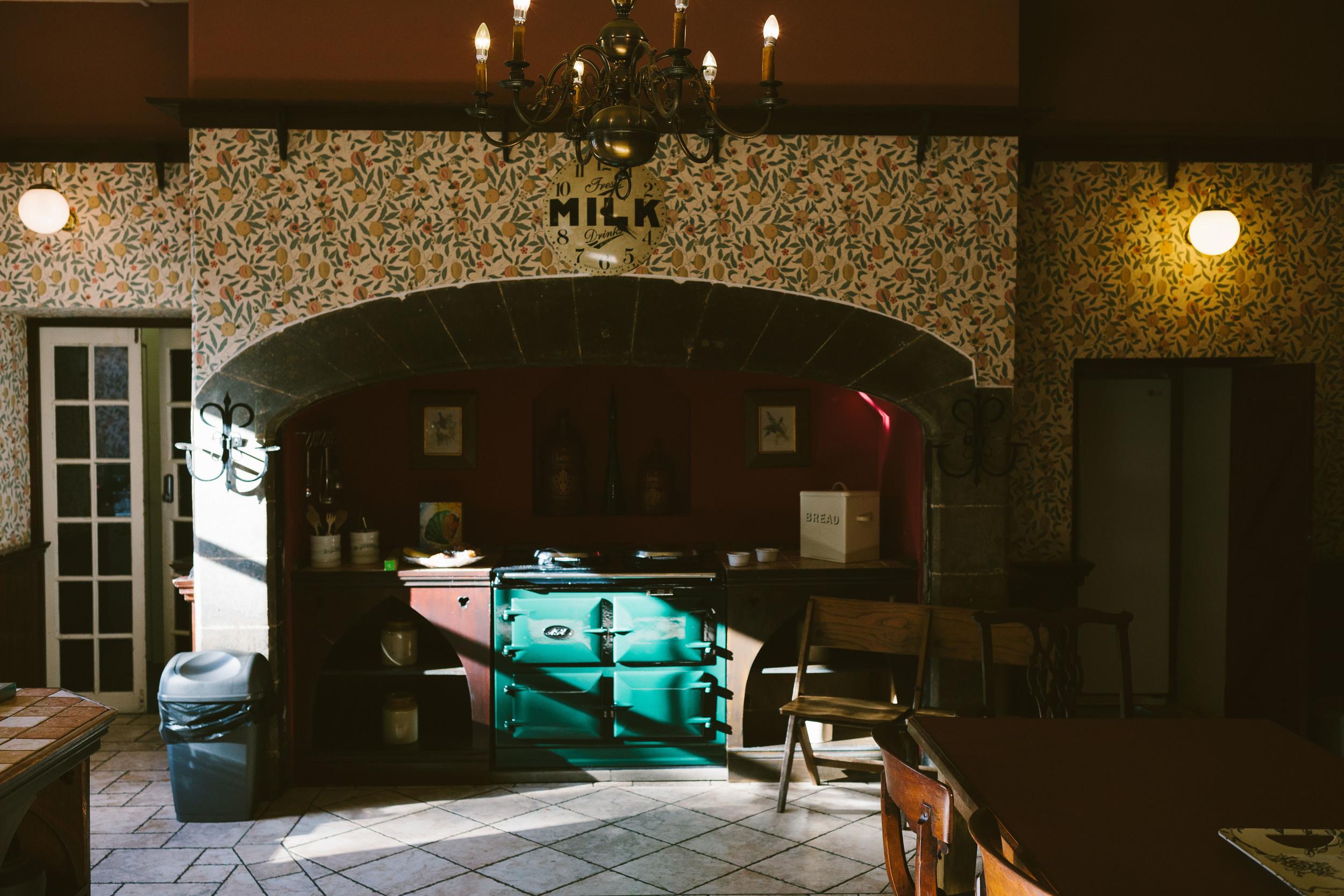 Ellingham Hall Northumberland Wedding Venue Kitchen