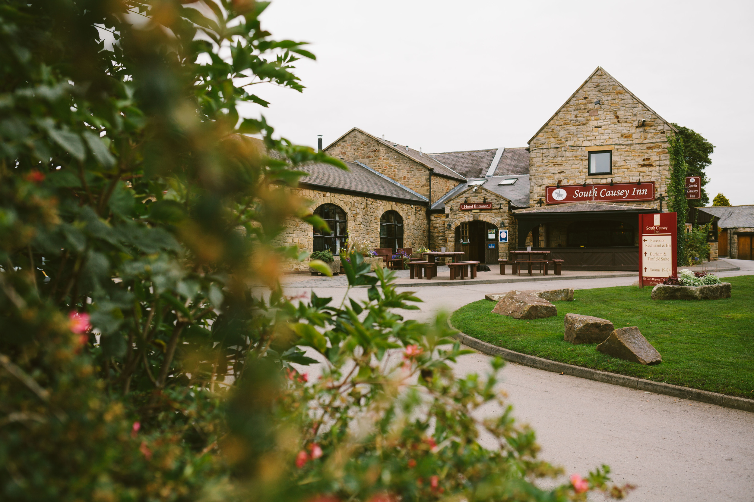 Durham Wedding Venue South Causey Inn