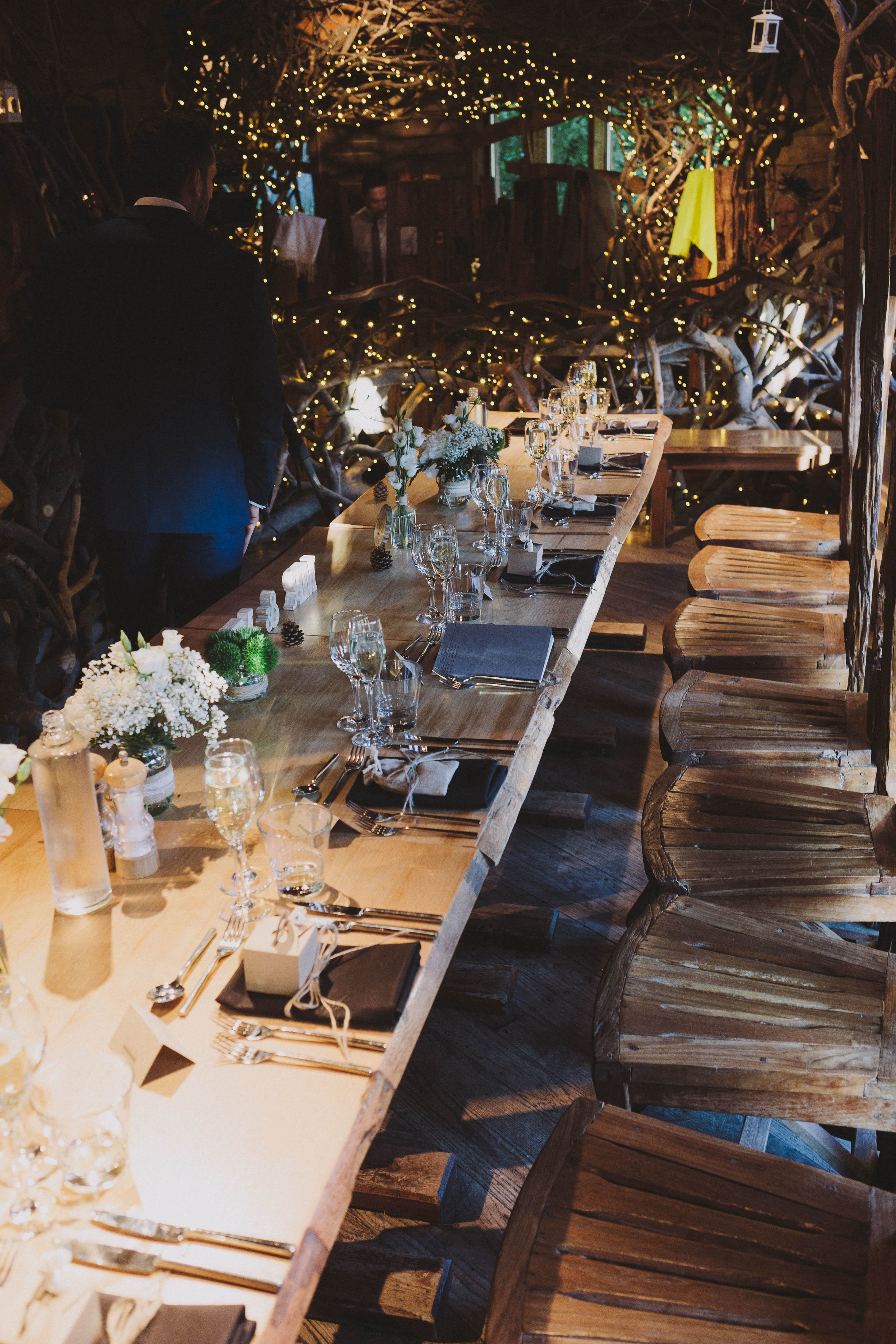 Alnwick Garden Treehouse Top Table